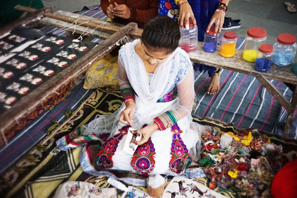 刺繍以外は女性の仕事